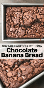 Chocolate Banana Bread PINTEREST