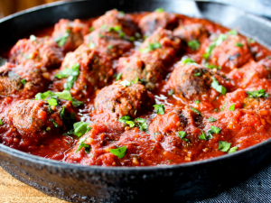 Meatballs in Marinara Sauce Whole30 + Paleo by The Whole Cook