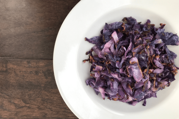 Roasted Red Cabbage FEATURE