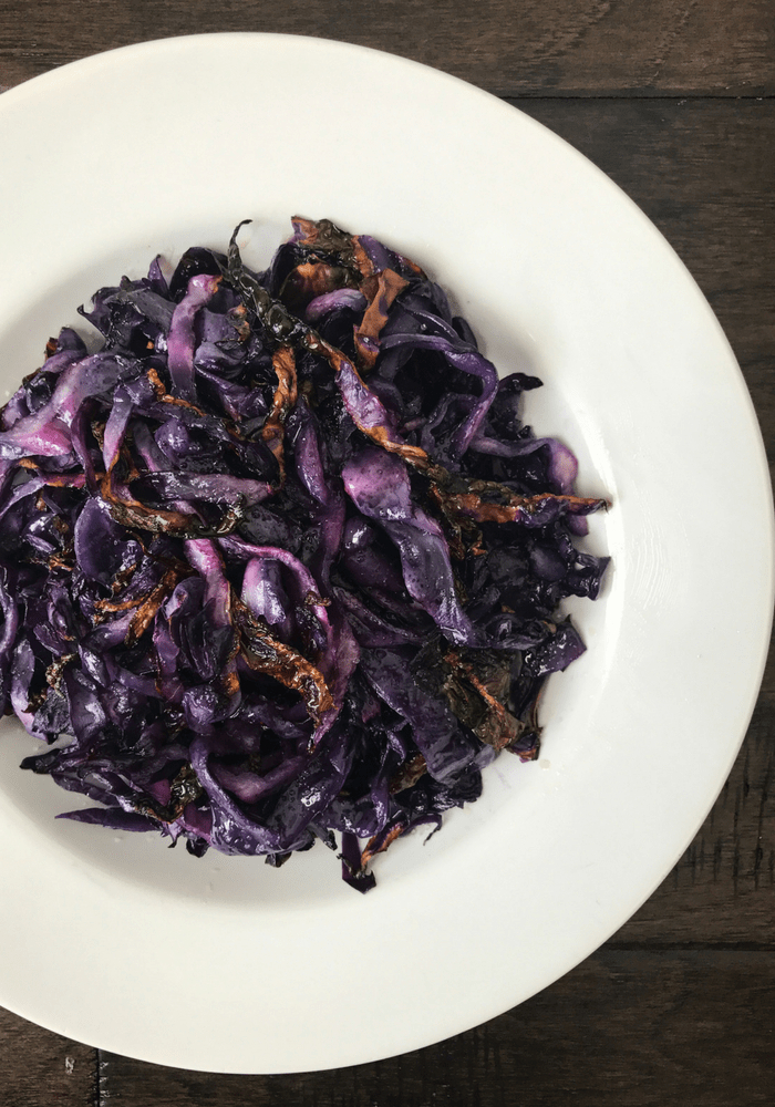 Roasted Red Cabbage by The Whole Cook VERTICAL FEATURE