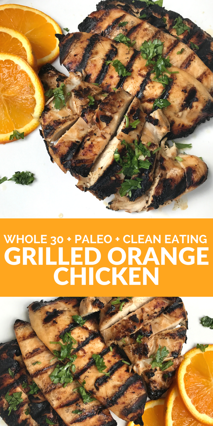 Grilled Orange Chicken PINTEREST