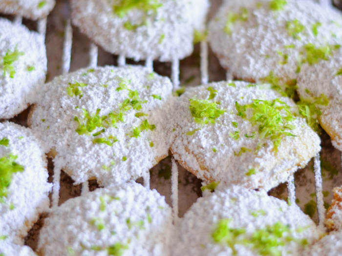 Key Lime Cookies by Luci's Morsels