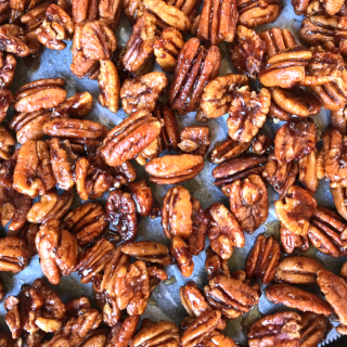 Sticky Candied Pecans