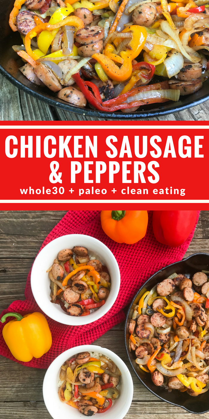 Chicken Sausage & Peppers by The Whole Cook