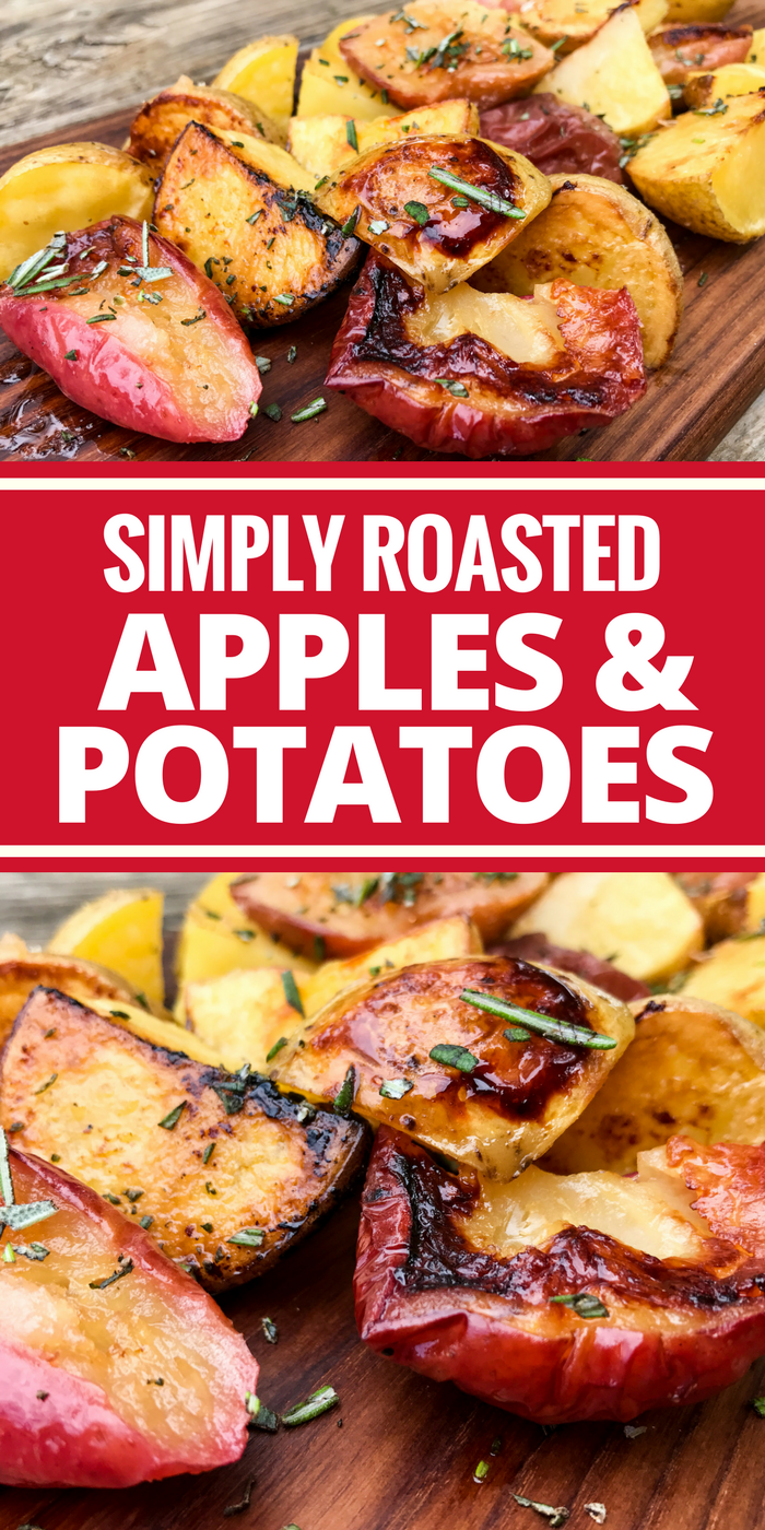 Roasted Apples & Potatoes by The Whole Cook