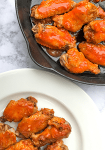Oven Baked Buffalo Wings by The Whole Cook VERTICAL FEATURE