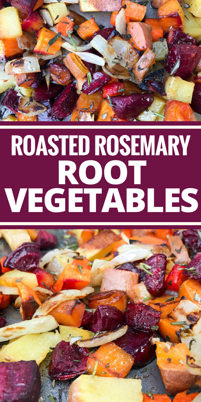 Roasted Rosemary Root Vegetables by The Whole Cook