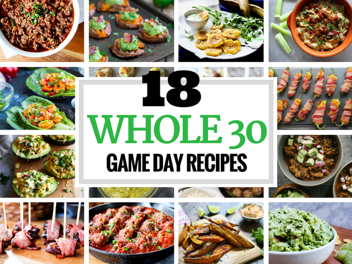 18 Whole30 Game Day Recipes