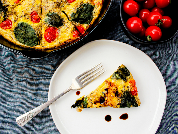 Caprese Frittata by The Whole Cook horizontal(1)