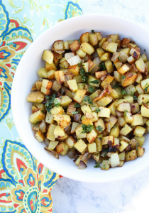 Skillet Breakfast Potatoes by The Whole Cook VERTICAL FEATURE