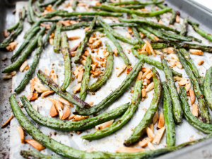 Green Beans with Toasted Almonds by The Whole Cook horizontal sheet