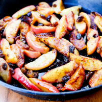 Sauteed Apples by The Whole Cook horizontal
