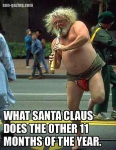 Santa Lizard