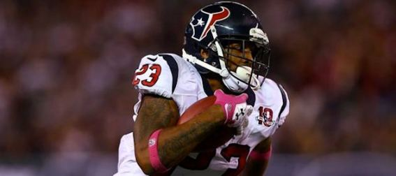 arian foster houston texans running back NFL Power Rankings: The Atlanta Falcons are Undefeated but the Houston Texans Own the Top Spot after Week 9