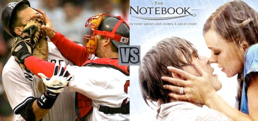 remote controlling red sox yankees vs the notebook Remote Controlling: The Man's TV Guide to Outsmart Women Featuring the NHL Playoffs, NBA Playoffs, Yankees vs. Red Sox and More
