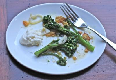 Yosemite with Suzanne Goin: Young Broccoli with Burrata