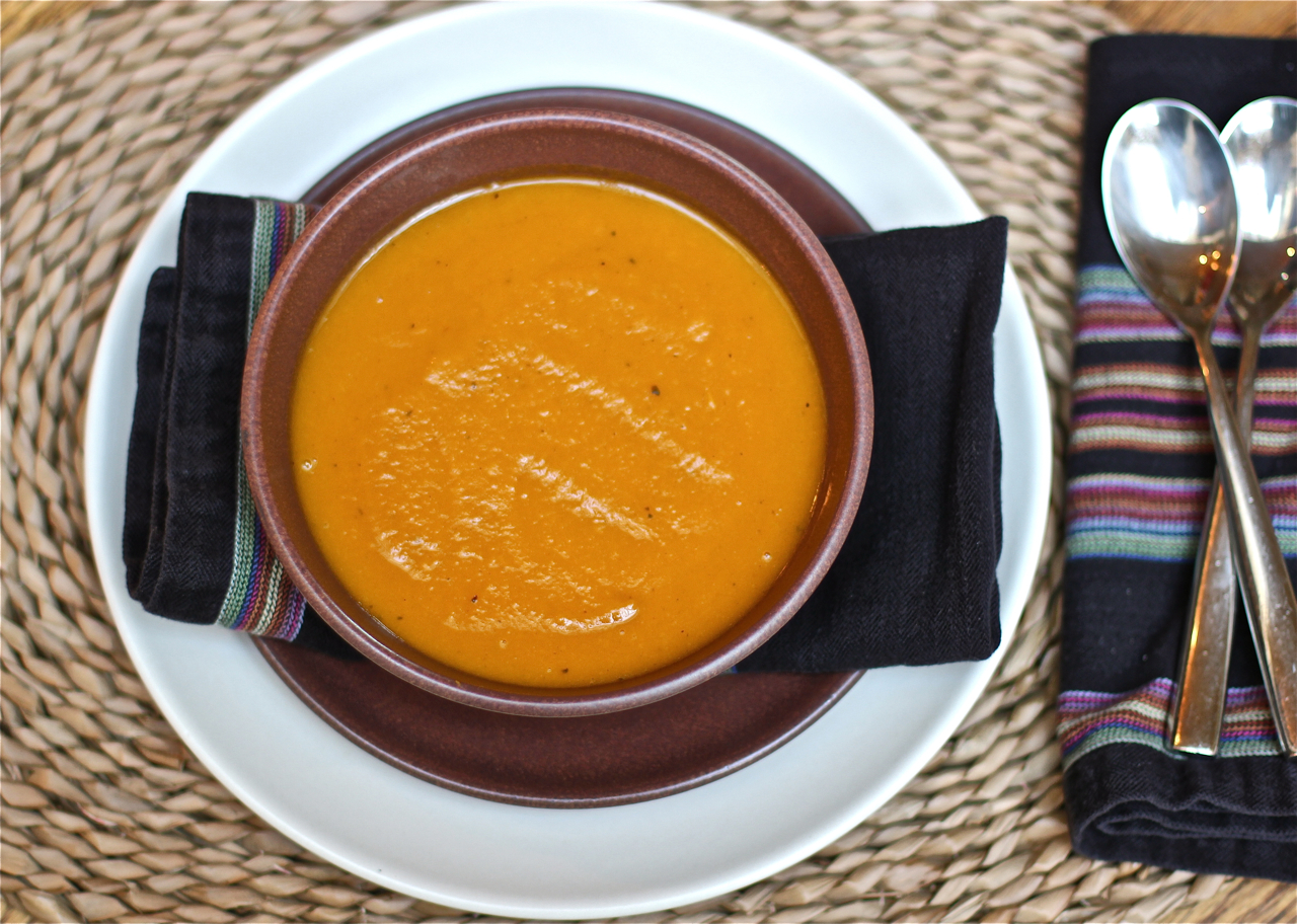 Easy Butternut Squash - Apple Soup