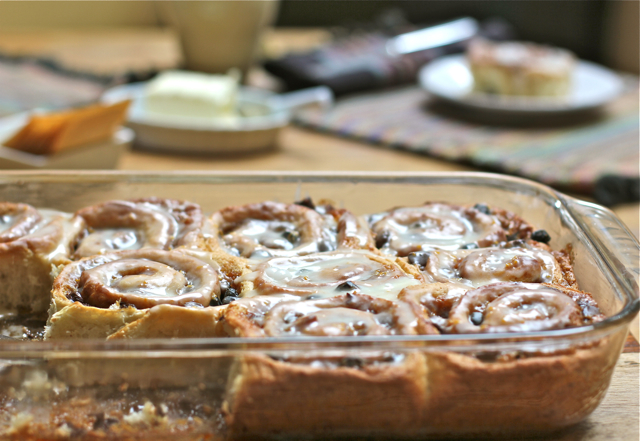 Soft Orange Cinnamon Rolls