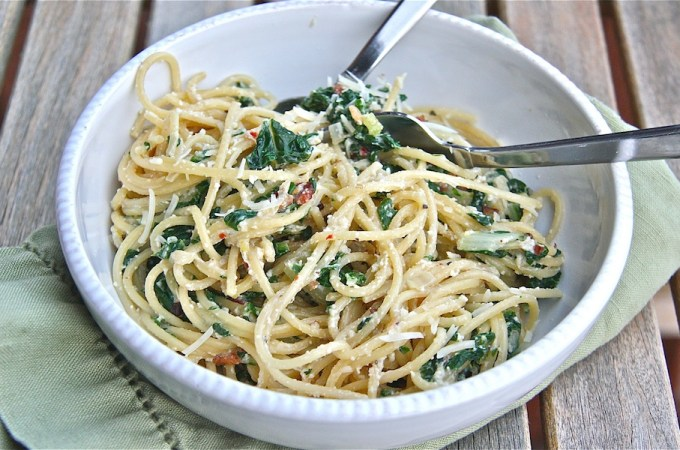Pasta Bloghop- Swiss Chard and Lemon Ricotta Pasta-slider