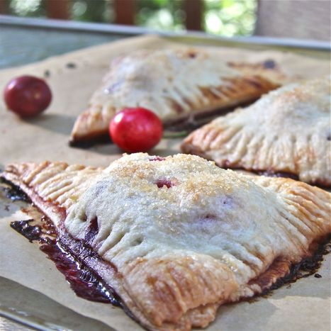 Blackberry Cherry Hand Pies : The Wimpy Vegetarian