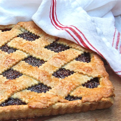 Fig Crostata Whole 400: The Wimpy Vegetarian