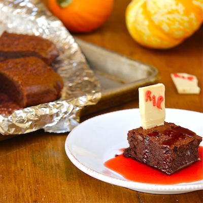 Brownies & Strawberry Syrup: #SundaySupper