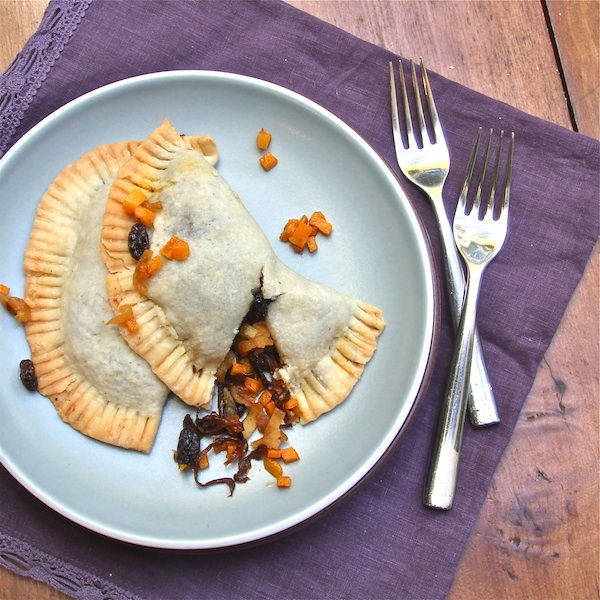Butternut Squash Caramelized Onion Empanadas : The Wimpy Vegetarian