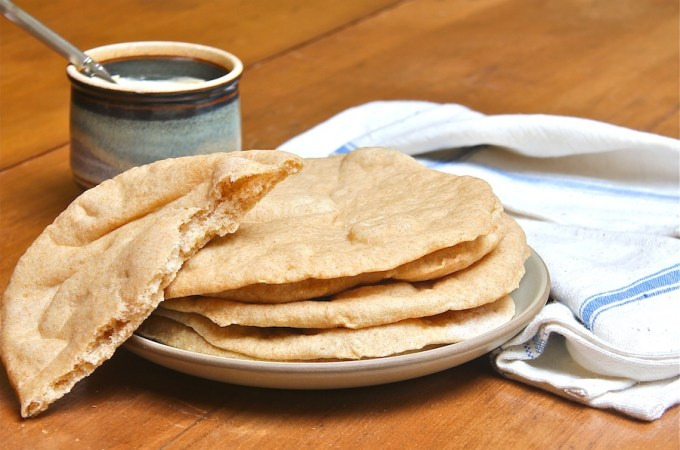 Whole Wheat Pita Bread 900 X 600