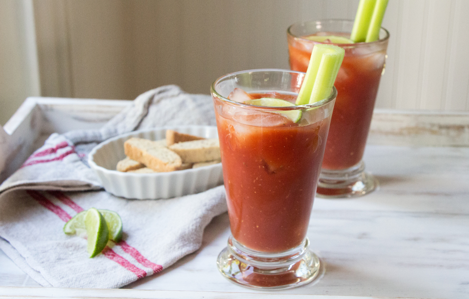 Bloody Mary with beer recipe