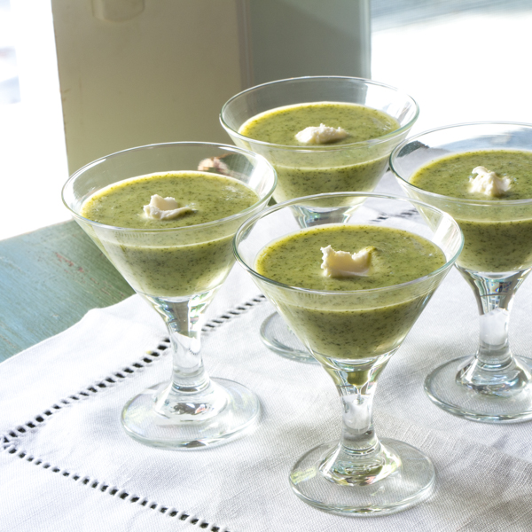 Watercress Buttermilk Vichyssoise