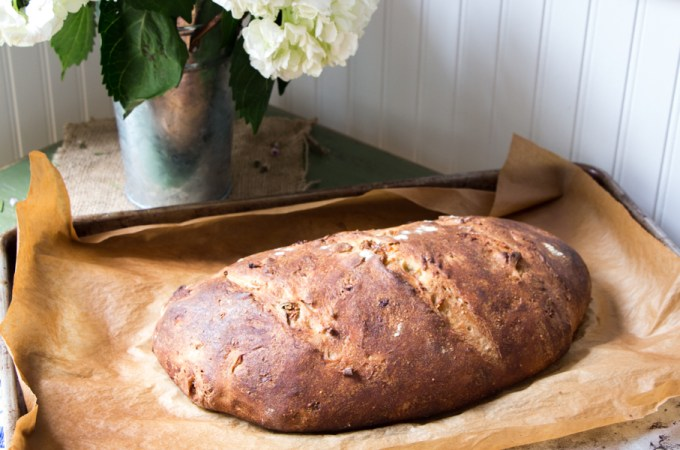 Fig and Anise Bread (Overnight Method)