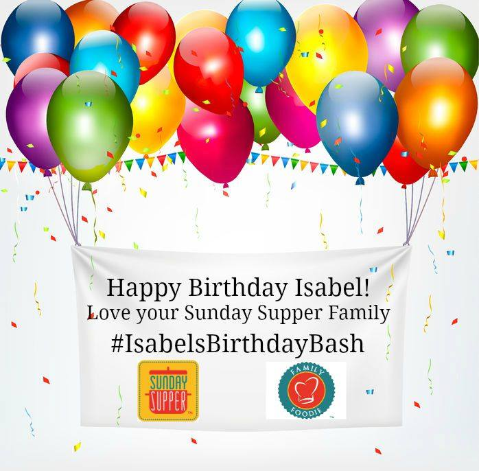 Isabel's birthday bash