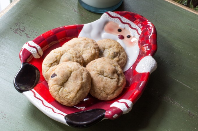 Figgy Cardamom Snickerdoodle Cookies