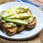 Chickpea Spread and Avocado Toasts
