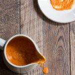 Roasted red pepper aioli for the food processor or blender.