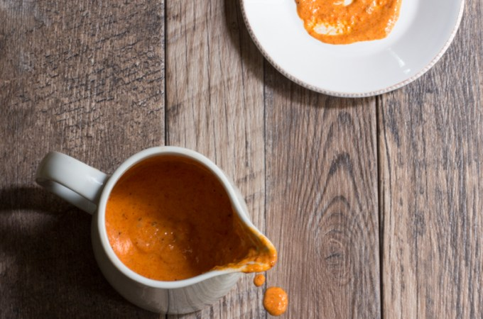 Roasted Red Pepper Aioli