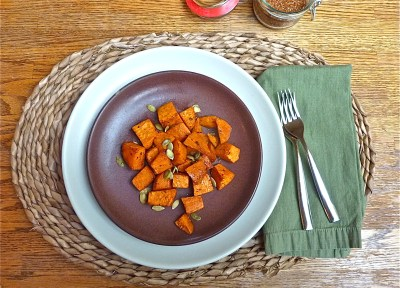 Roasted Spicy Yams