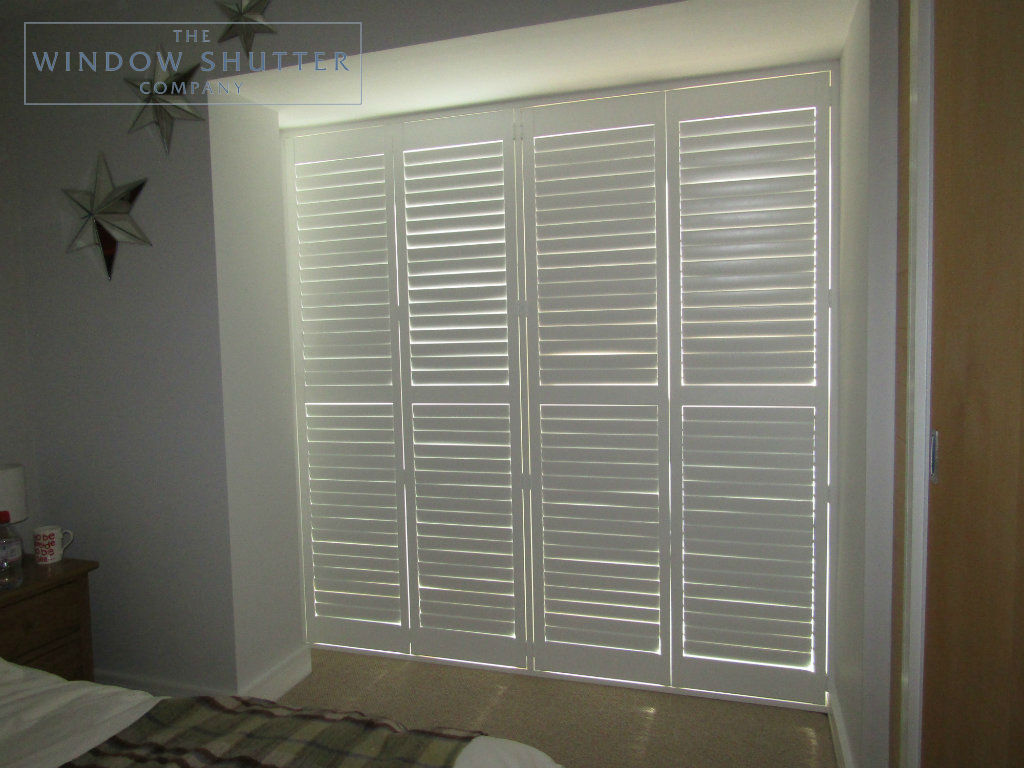 Floor To Ceiling Bay Window Floor To Ceiling Full Height Shutters Show Off This Modern