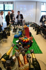 "The ""main stage"" over 100 wines on tasting"