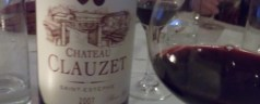 Ch. Clauzet, good Bordeaux that doesn't break the bank…