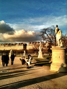 in the Tuileries