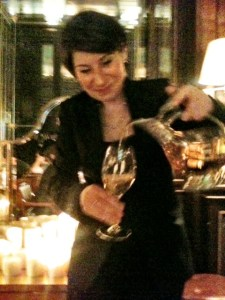 Estelle Pouring