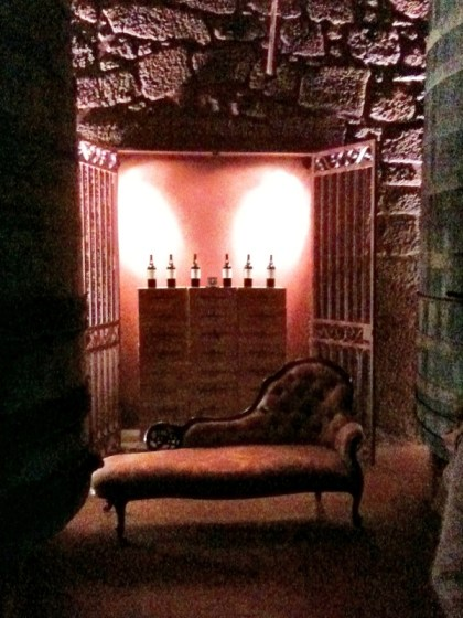 lounge in the cellar