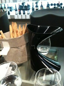 decanter &amp; crackers