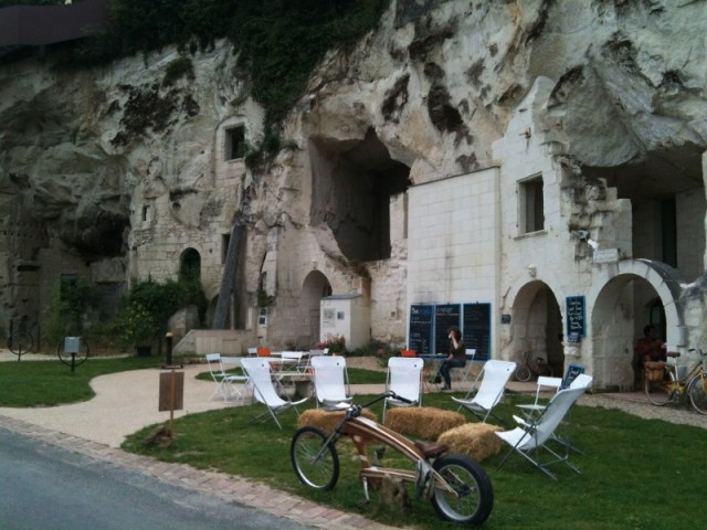 troglodyte caves put to modern use