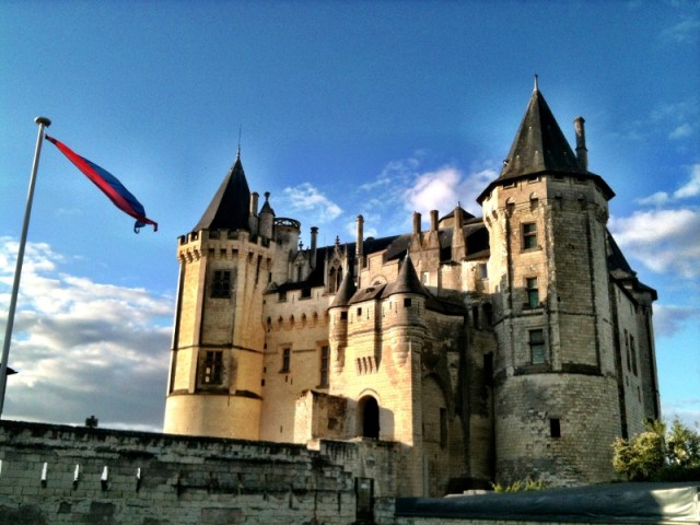 Saumur castle