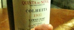Thursday snapshot &#8211; Quinta do Noval 1937 Colheita