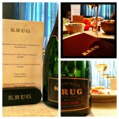 Murano and Krug Champagne – a seasonally paired menu