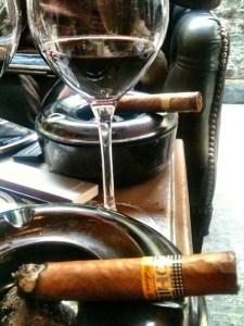 wine & cigar