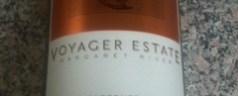 Voyager Estate 2005 cabernet/merlot, a tasting note